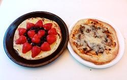 石窯ピザ。