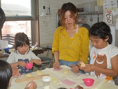 親子でパン作り2